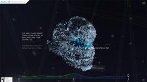 Пример интерактивного сайта