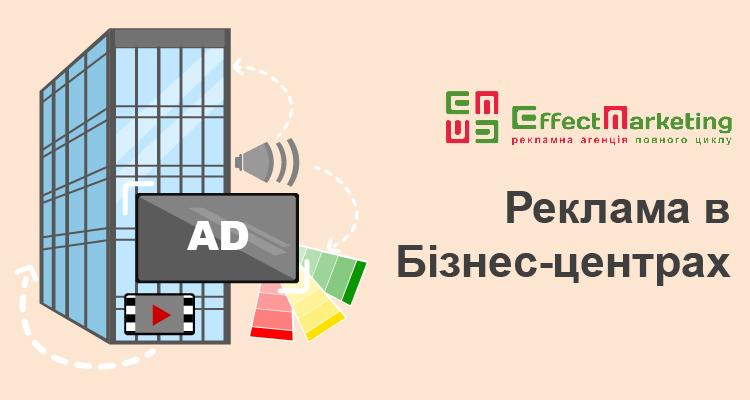 Реклама у бізнес центрах
