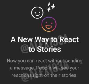 Новые реакции на сторис в Instagram