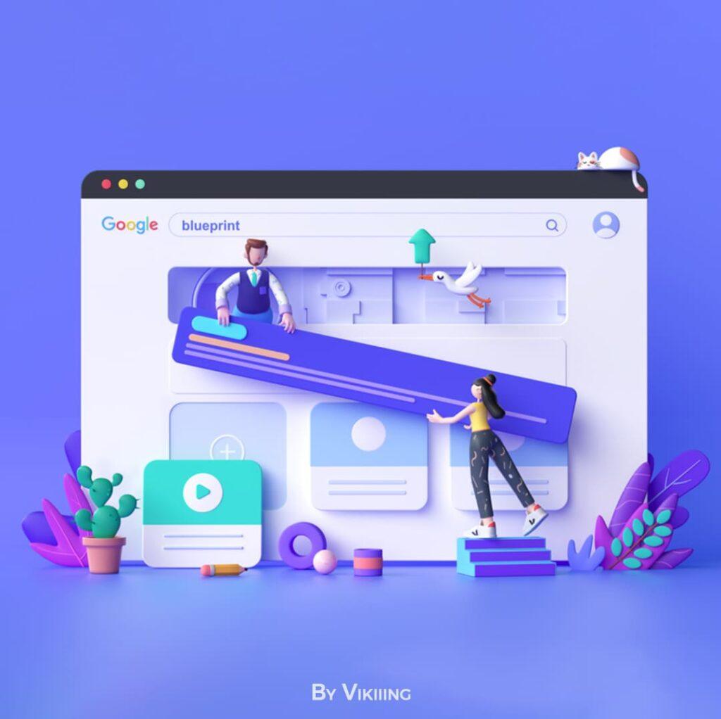 3д дизайн в создании сайтов