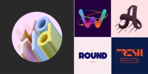 Утонченные шрифты в графическом дизайне 2021