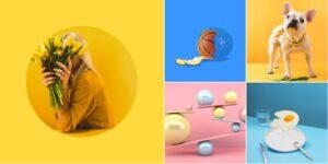Яркие цвета в дизайне 2021