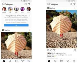 Скрытие лайков в Инстаграм