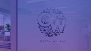 Створення логотипу для компанії з ландшафтного озеленення Green Wizard