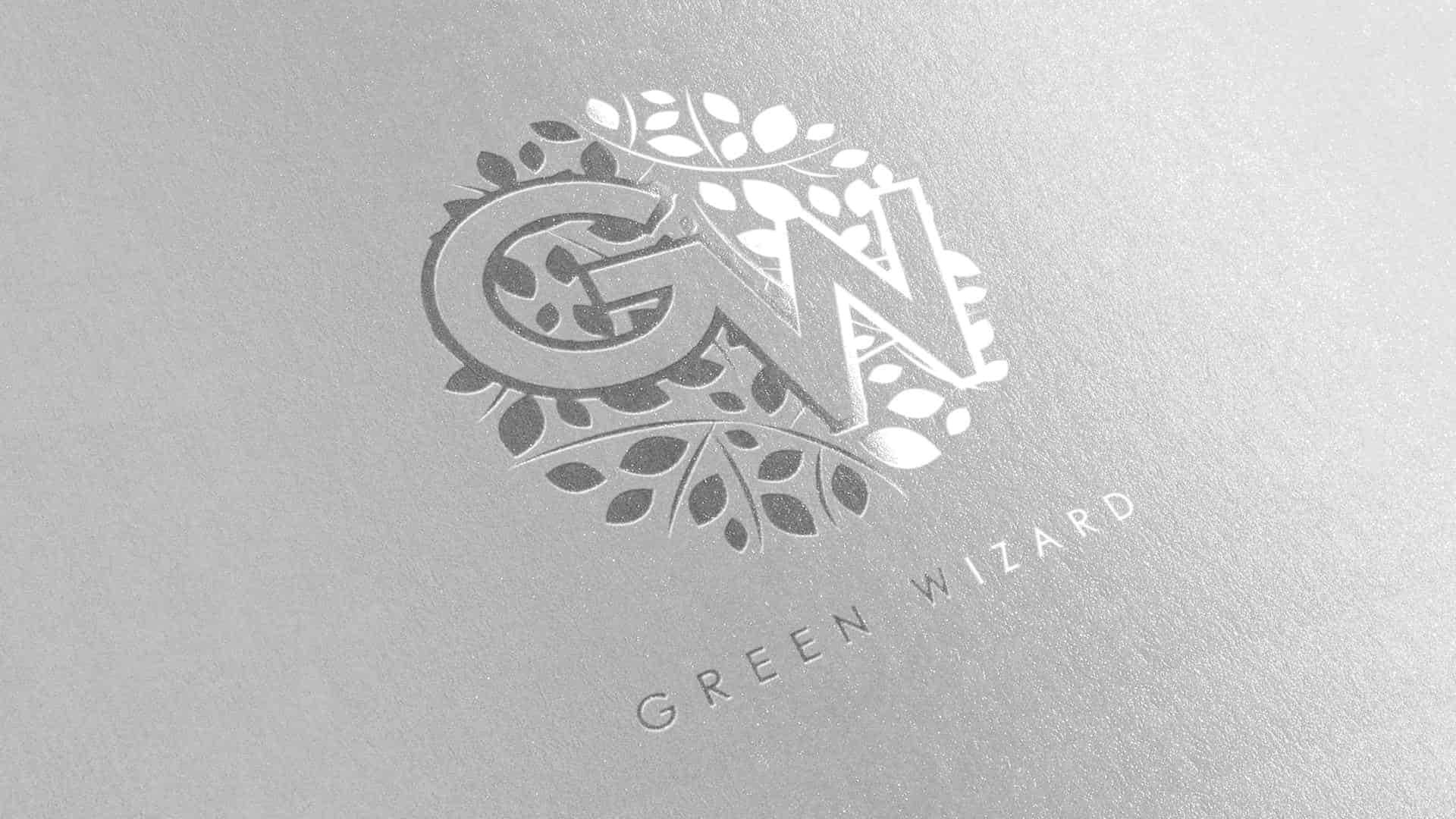 Green Wizard - створення логотипу