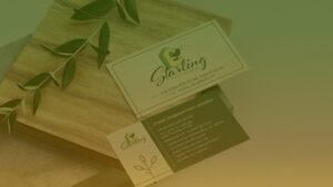 Создание логотипа Starling
