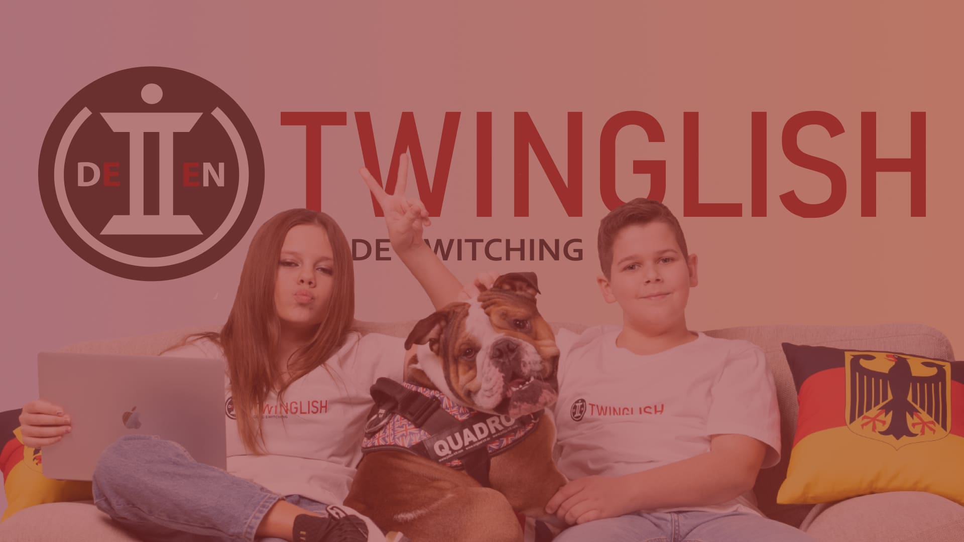 TWINGLISH - створення логотипу