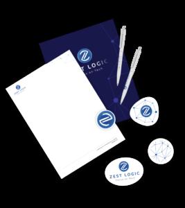 Создание логотипа Zest Logic