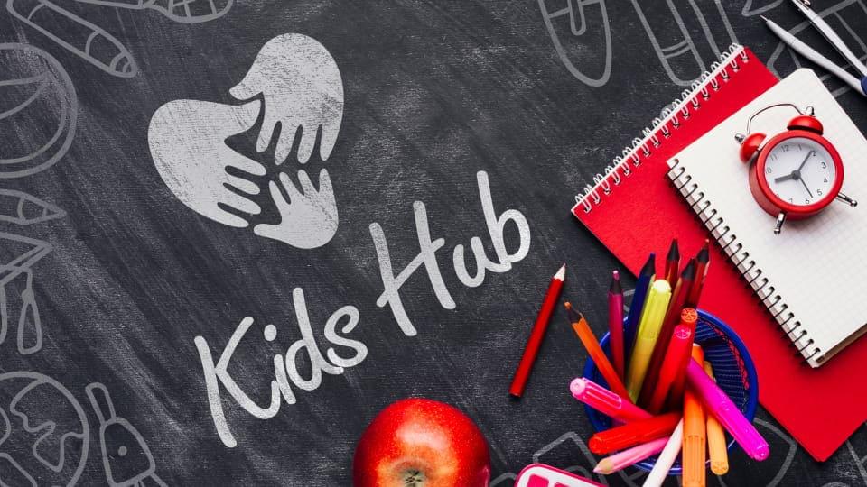 Kid`s Hub - создание логотипа