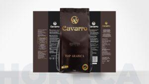 создание дизайна упаковки Cavarro